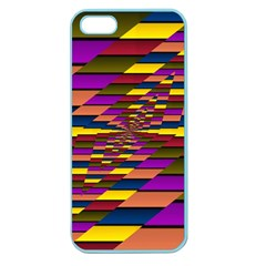 Autumn Check Apple Seamless Iphone 5 Case (color) by designworld65