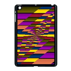 Autumn Check Apple Ipad Mini Case (black) by designworld65
