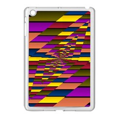 Autumn Check Apple Ipad Mini Case (white) by designworld65
