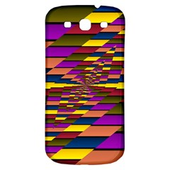 Autumn Check Samsung Galaxy S3 S Iii Classic Hardshell Back Case by designworld65