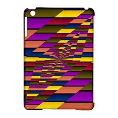 Autumn Check Apple Ipad Mini Hardshell Case (compatible With Smart Cover) by designworld65