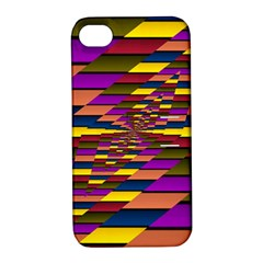 Autumn Check Apple Iphone 4/4s Hardshell Case With Stand by designworld65
