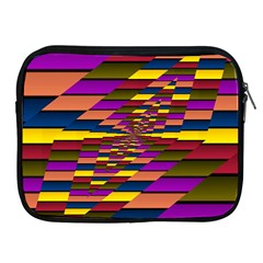 Autumn Check Apple Ipad 2/3/4 Zipper Cases