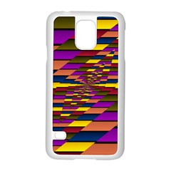 Autumn Check Samsung Galaxy S5 Case (white) by designworld65