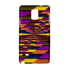 Autumn Check Samsung Galaxy Note 4 Hardshell Case by designworld65