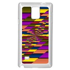 Autumn Check Samsung Galaxy Note 4 Case (white)