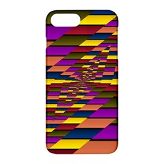 Autumn Check Apple Iphone 7 Plus Hardshell Case by designworld65