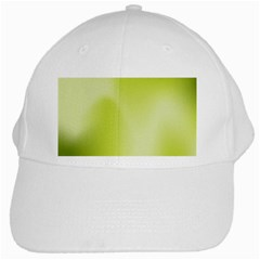 Green Soft Springtime Gradient White Cap
