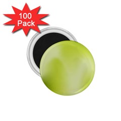 Green Soft Springtime Gradient 1 75  Magnets (100 Pack)