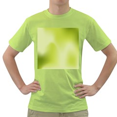 Green Soft Springtime Gradient Green T Shirt