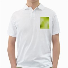 Green Soft Springtime Gradient Golf Shirts