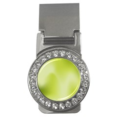 Green Soft Springtime Gradient Money Clips (cz)