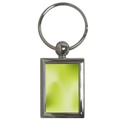 Green Soft Springtime Gradient Key Chains (rectangle)