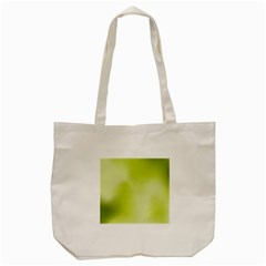 Green Soft Springtime Gradient Tote Bag (cream)