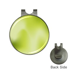 Green Soft Springtime Gradient Hat Clips With Golf Markers