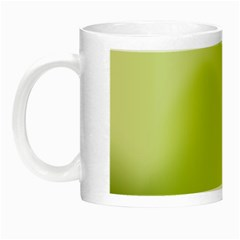 Green Soft Springtime Gradient Night Luminous Mugs