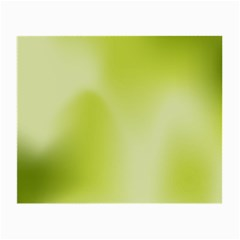 Green Soft Springtime Gradient Small Glasses Cloth (2-Side)