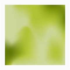 Green Soft Springtime Gradient Medium Glasses Cloth (2 Side) by designworld65