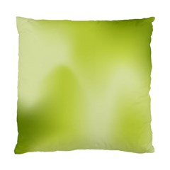 Green Soft Springtime Gradient Standard Cushion Case (Two Sides)