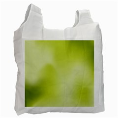 Green Soft Springtime Gradient Recycle Bag (two Side)