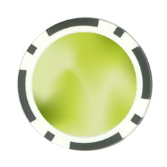Green Soft Springtime Gradient Poker Chip Card Guard (10 Pack)