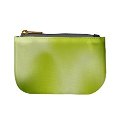 Green Soft Springtime Gradient Mini Coin Purses