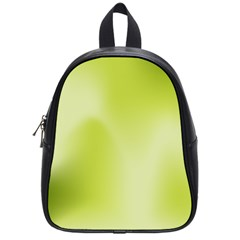 Green Soft Springtime Gradient School Bag (small) by designworld65