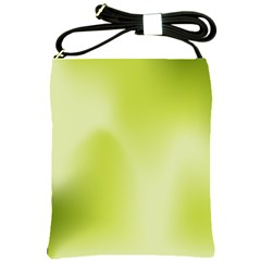 Green Soft Springtime Gradient Shoulder Sling Bags