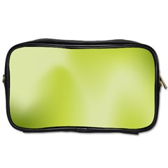 Green Soft Springtime Gradient Toiletries Bags