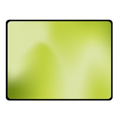 Green Soft Springtime Gradient Fleece Blanket (small)