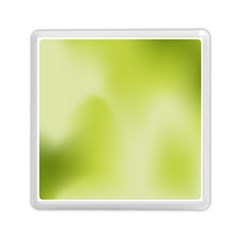 Green Soft Springtime Gradient Memory Card Reader (square)