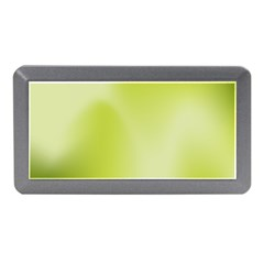 Green Soft Springtime Gradient Memory Card Reader (mini)