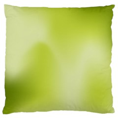 Green Soft Springtime Gradient Large Cushion Case (one Side)