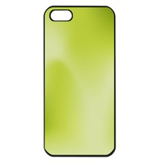 Green Soft Springtime Gradient Apple Iphone 5 Seamless Case (black)