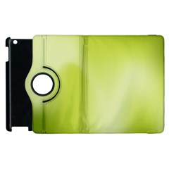 Green Soft Springtime Gradient Apple Ipad 2 Flip 360 Case