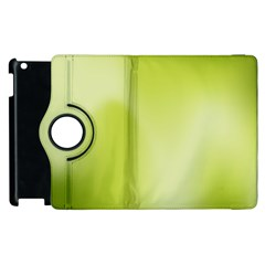 Green Soft Springtime Gradient Apple Ipad 3/4 Flip 360 Case