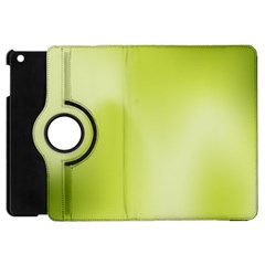 Green Soft Springtime Gradient Apple Ipad Mini Flip 360 Case