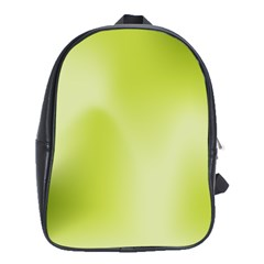 Green Soft Springtime Gradient School Bag (xl)