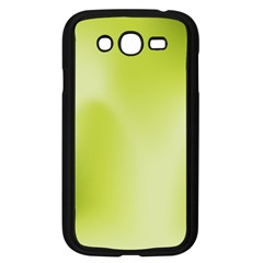 Green Soft Springtime Gradient Samsung Galaxy Grand Duos I9082 Case (black) by designworld65