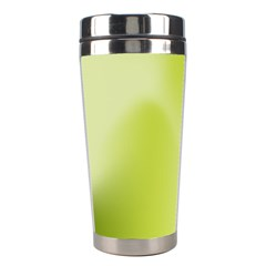 Green Soft Springtime Gradient Stainless Steel Travel Tumblers