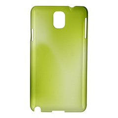 Green Soft Springtime Gradient Samsung Galaxy Note 3 N9005 Hardshell Case