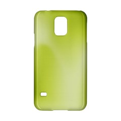 Green Soft Springtime Gradient Samsung Galaxy S5 Hardshell Case  by designworld65