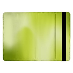Green Soft Springtime Gradient Samsung Galaxy Tab Pro 12 2  Flip Case by designworld65