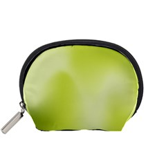 Green Soft Springtime Gradient Accessory Pouches (small)