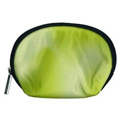 Green Soft Springtime Gradient Accessory Pouches (Medium)