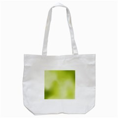 Green Soft Springtime Gradient Tote Bag (white)