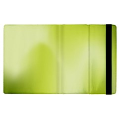 Green Soft Springtime Gradient Apple Ipad Pro 9 7   Flip Case