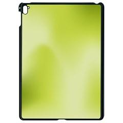 Green Soft Springtime Gradient Apple Ipad Pro 9 7   Black Seamless Case