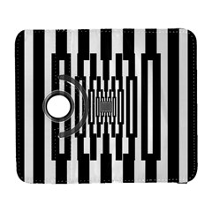 Black Stripes Endless Window Galaxy S3 (flip/folio)