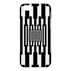 Black Stripes Endless Window Apple Iphone 5c Hardshell Case